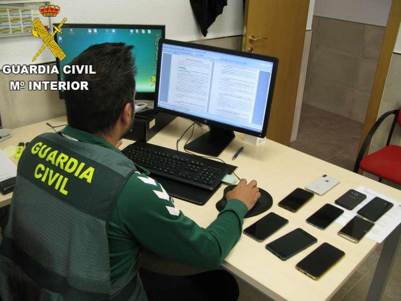 Imagen de un Guardia Civil