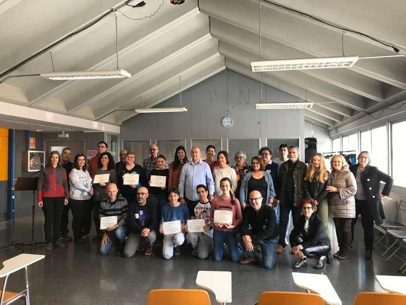 Participantes en el concurso literario. EPDA
