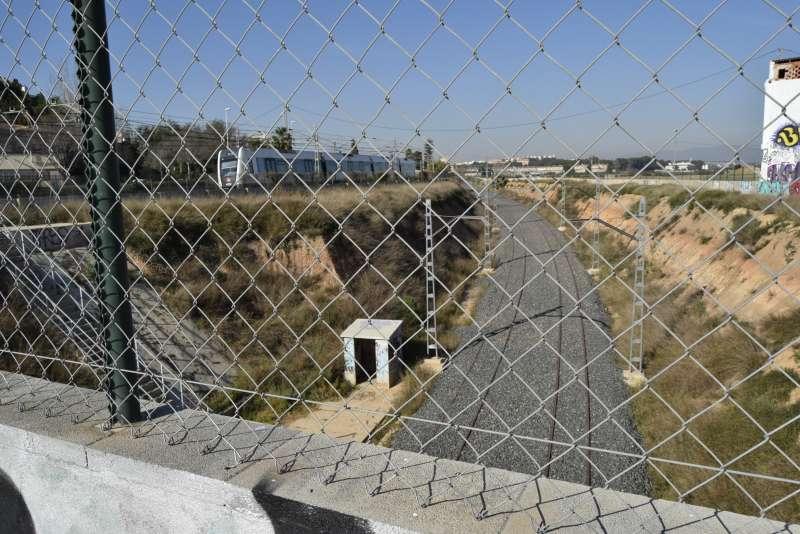 Estación del Empalme de Burjassot.EPDA