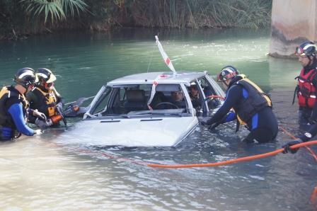 Curso ?Rescate en superficie, ríos, riadas e inundaciones?. Foto EPDA