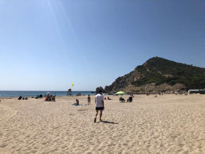 Deporte en la playa/EPDA
