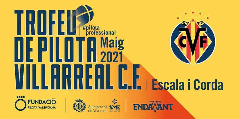 Cartel del torneo de pilota valenciana. EPDA