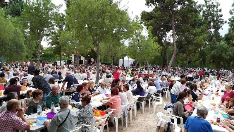 Celebración de la festividad durante el año pasado. EPDA