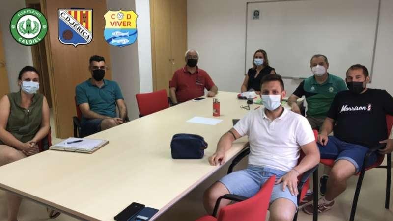 Reunión de las directivas de Jérica, Caudiel y Viver