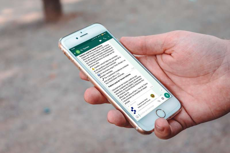 Servicio de Whatsapp del Ayuntamiento de Torrent