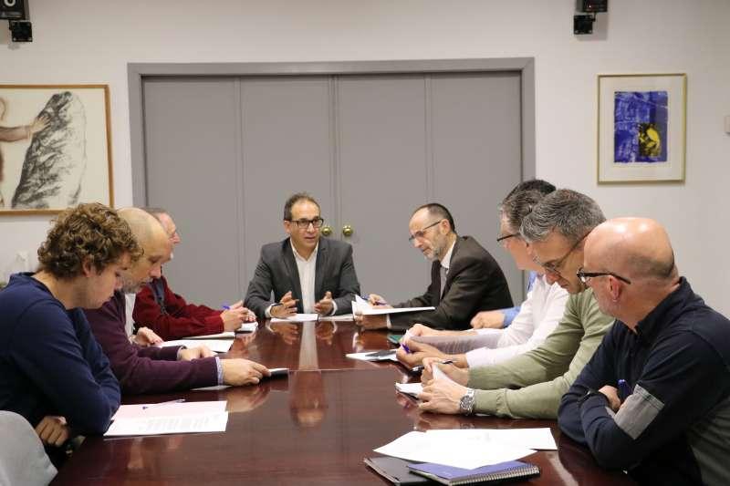 Reunión de la concejalía de Desarrollo Urbano Sostenible. EPDA