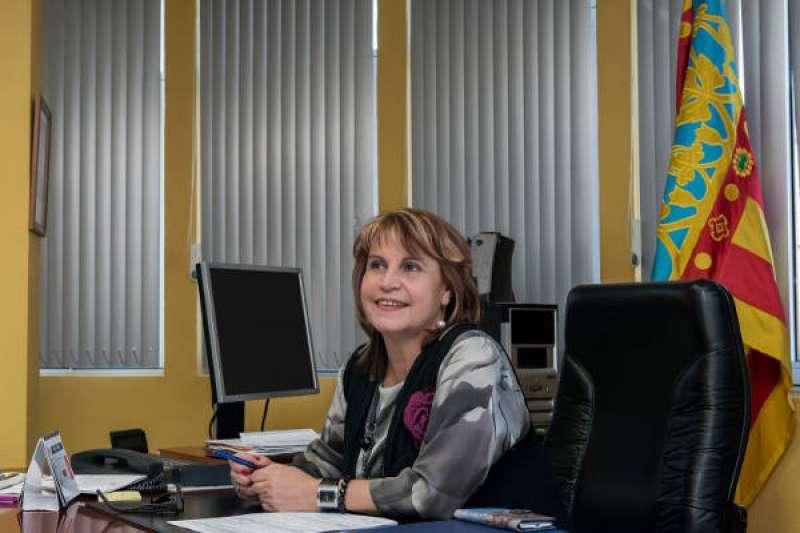 Conxa García, alcaldesa socialista de Picassent. EPDA