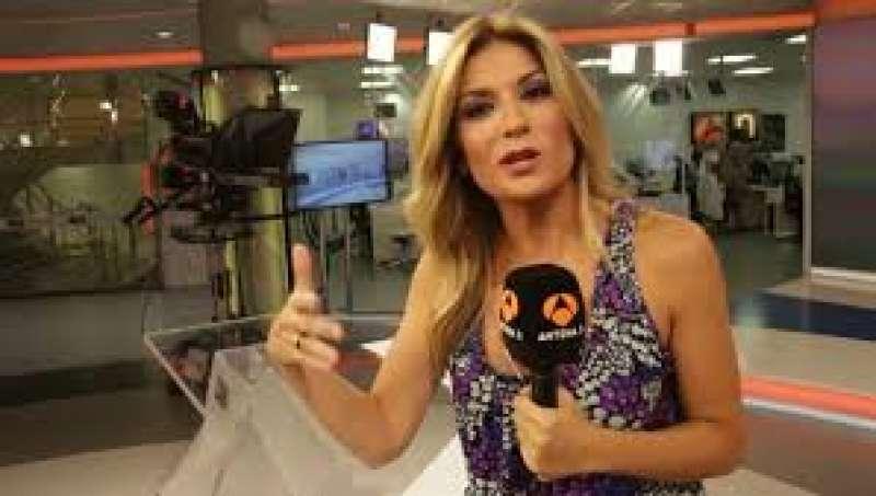 Sandra Golpe triunfa con Antena 3 Noticias 1 de lunes a viernes. FOTO ATRESMEDIA