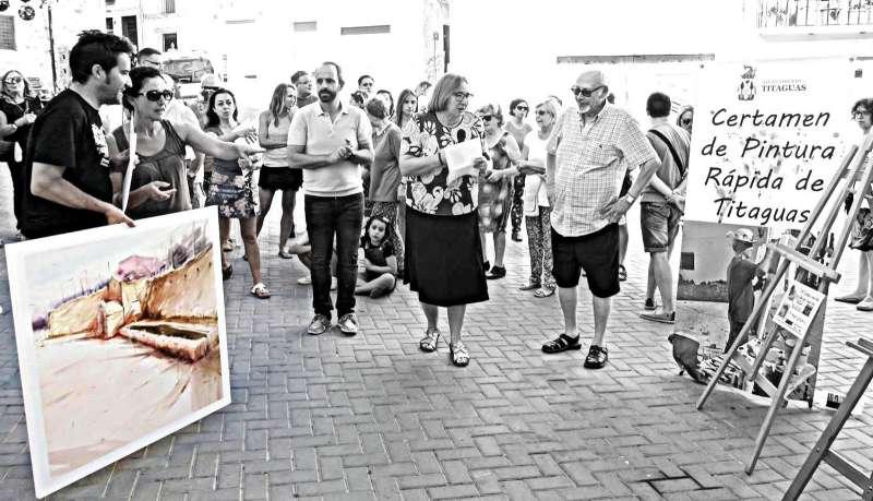 Concurso de Pintura Rápida en Titaguas