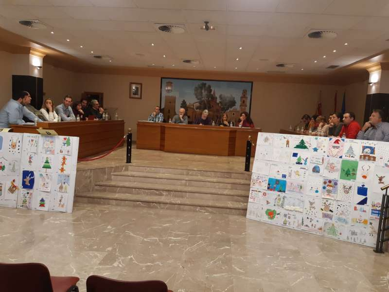 Pleno municipal de Albal. EPDA