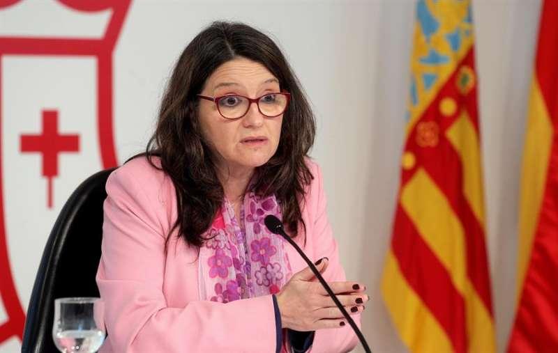 La vicepresidenta y consellera de Igualdad y Políticas Inclusivas, Mónica Oltra.