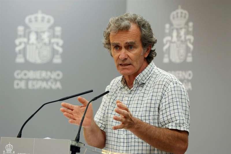 El doctor Simón. EFE