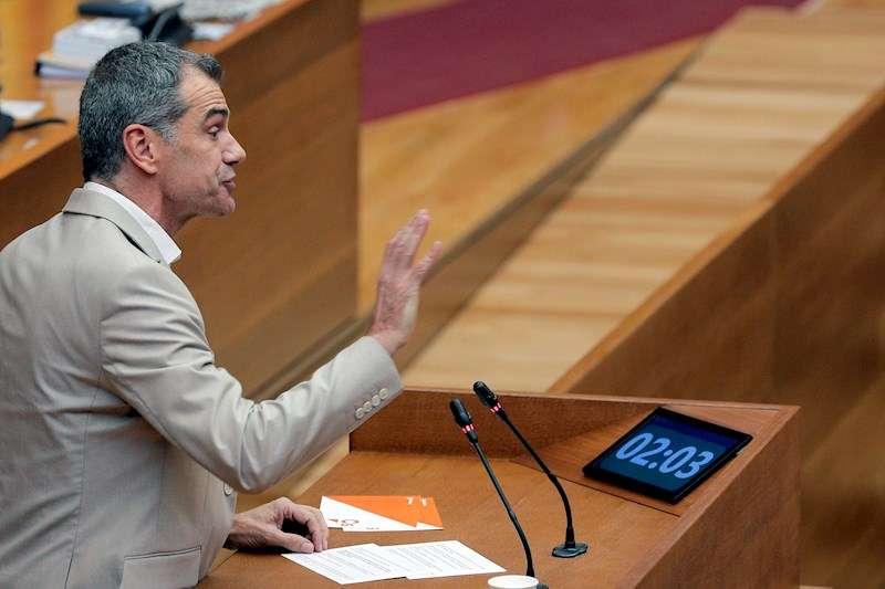 El portavoz de Ciudadanos, Toni Cantó. EFE