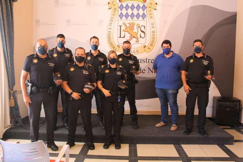 Ingreso de los nuevos agentes de la Policía Local de Nules