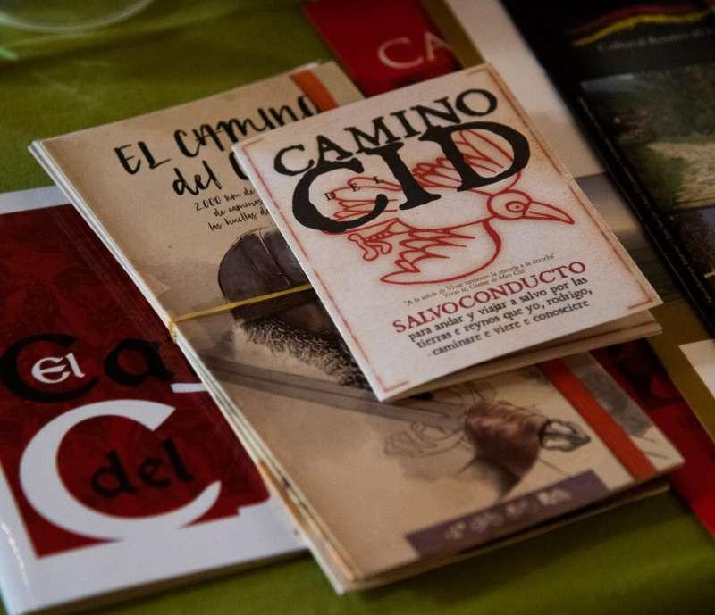 Publicaciones relacionadas con el Camino del Cid