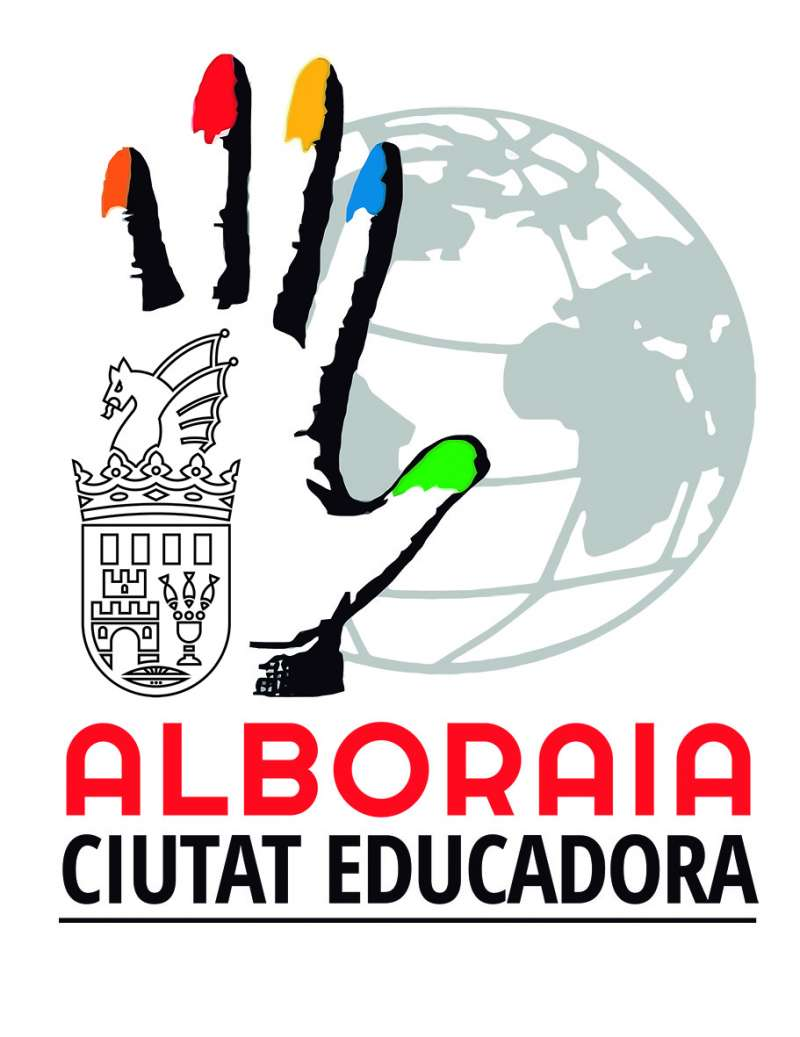 Logo Alboraia Ciudad Educadora. EPDA
