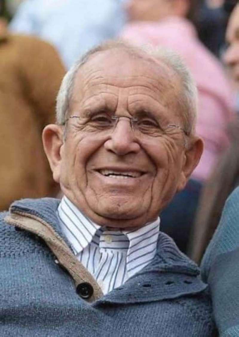 Foto del anciano fallecido publicada por el Ayuntamiento de Foios en su cuenta de Twitter.