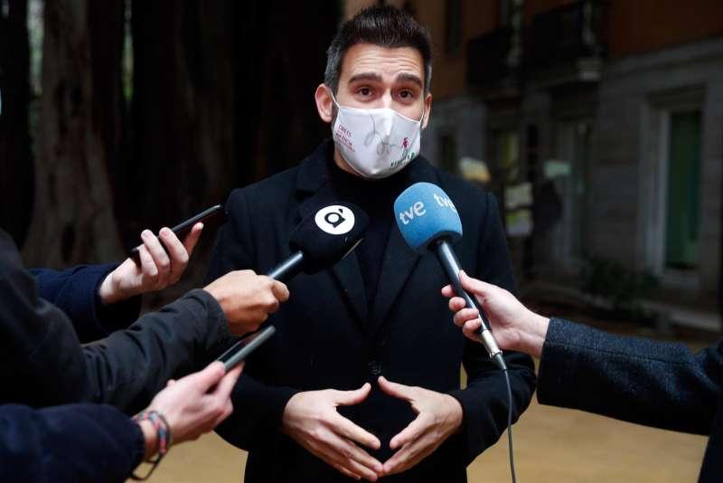 El portavoz de Compromís en Les Corts, Fran Ferri.