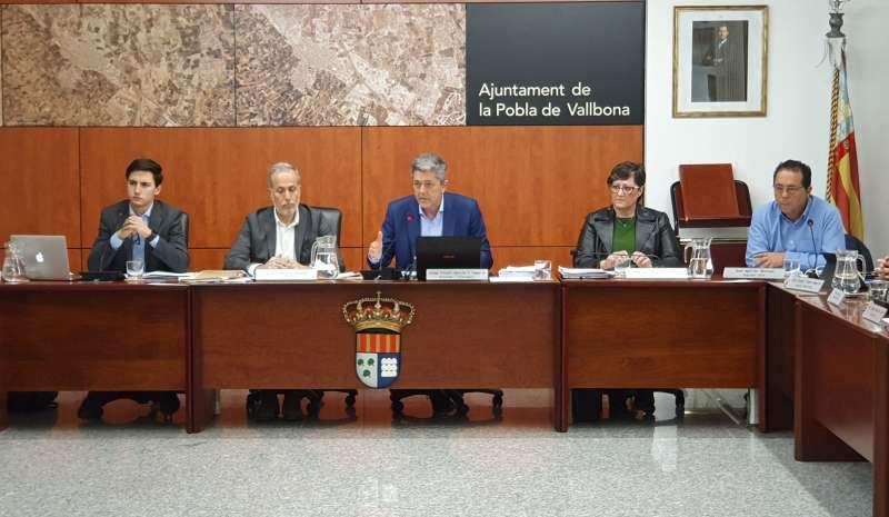 Pleno de La Pobla de Vallbona. /  EPDA
