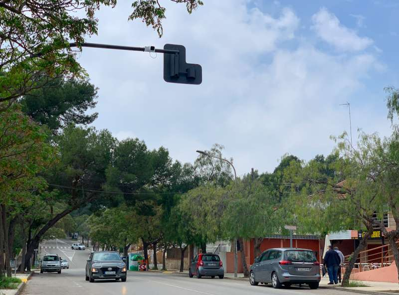 Imagen de una de las ca?maras de vigilancia en La Canyada