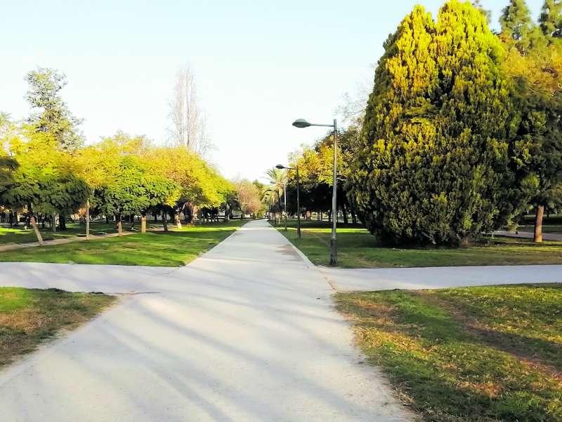 Jardín del Túria. EPDA/Archivo