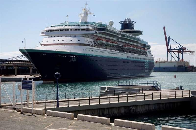 Vista de un buque atracado durante el periodo de confinamiento por la Covid-19). EFE/Daniel Pérez/Archivo