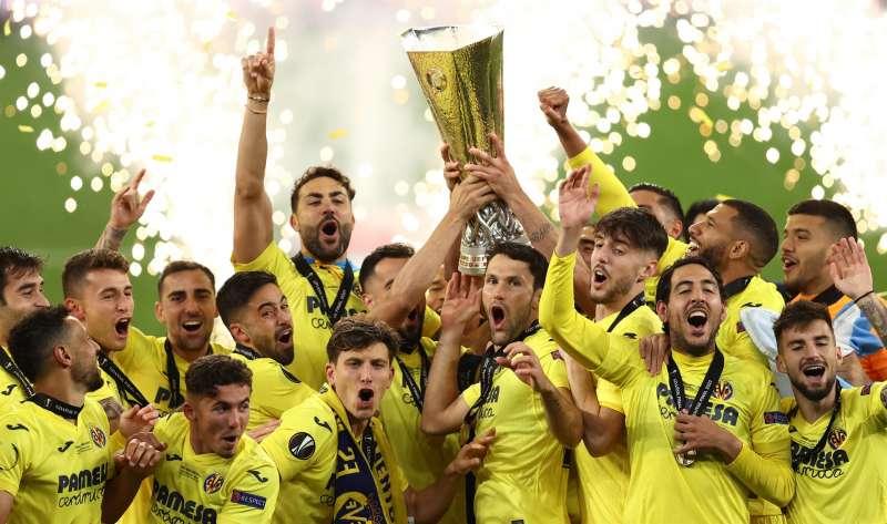 El Villarreal alzó la Liga Europa el 26 de mayo en Polonia.