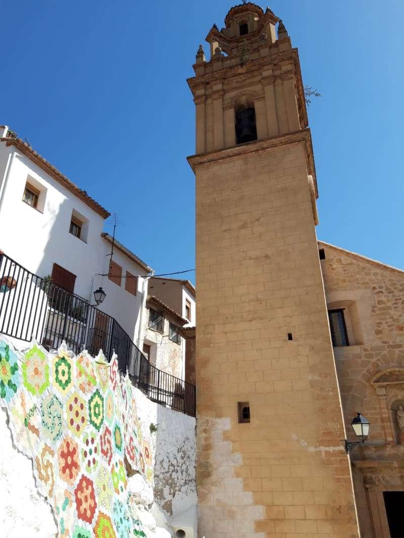 Plaza de Chulilla. EPDA.