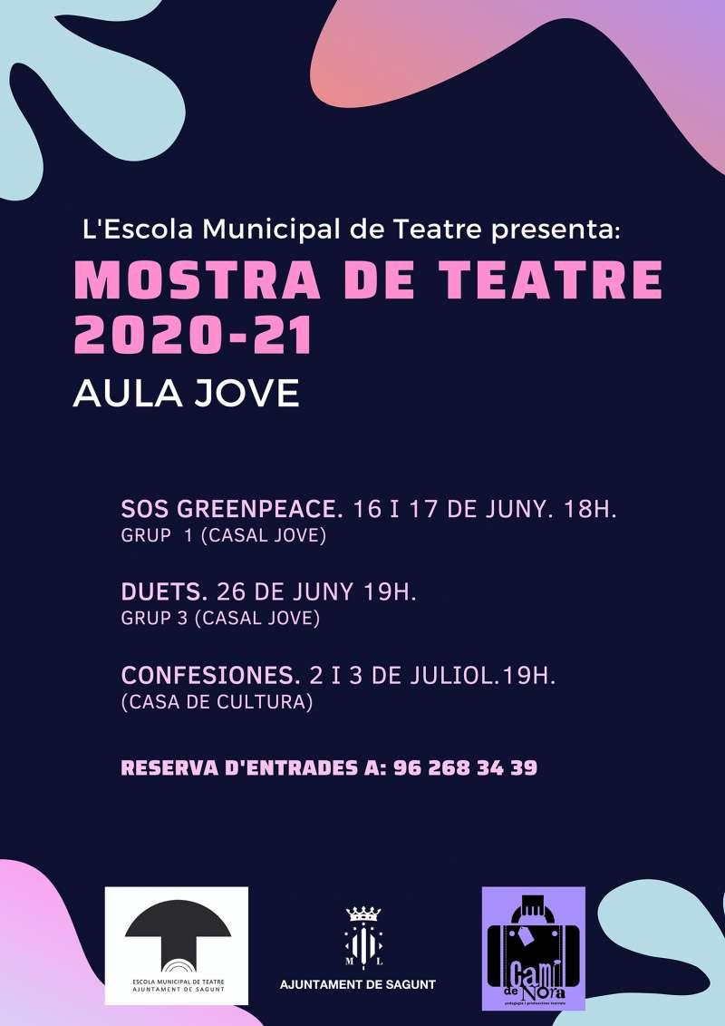 Mostra de Teatre de la Escuela Municipal de Teatro de Sagunto. / EPDA