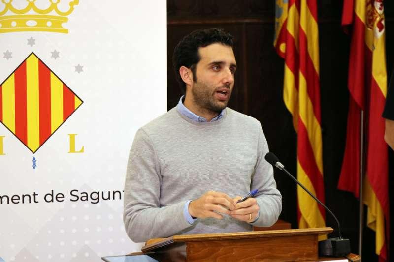 El alcalde de Sagunt, Darío Moreno.