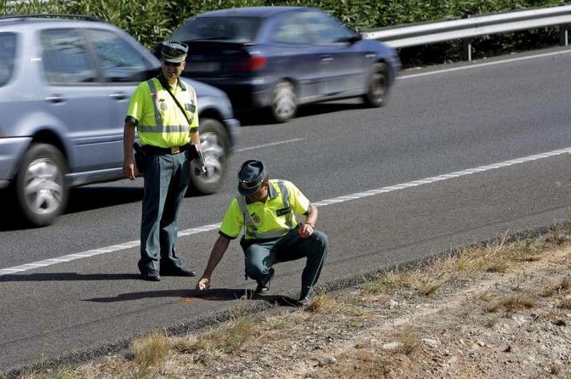 Accidente de tráfico. Archivo