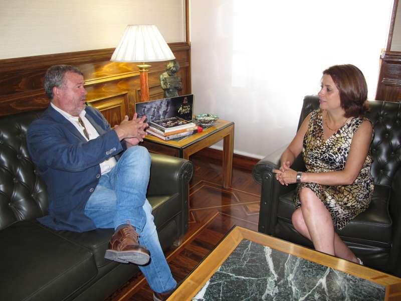 Alcalde de Sagunto y alcaldesa de Teruel.