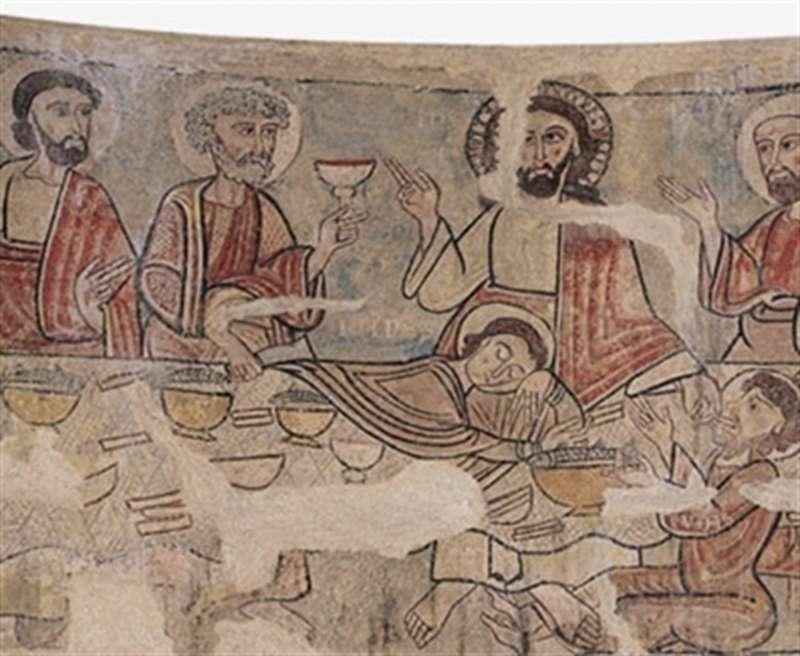 Frescos de la Capilla de Santa Catalina de la Seu De Urgell.