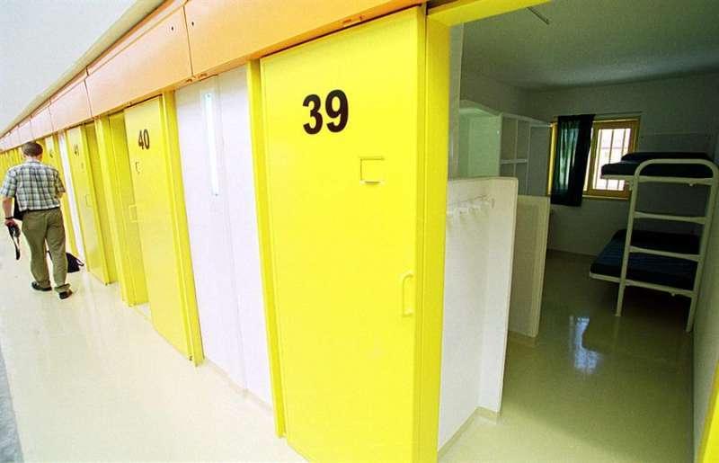 En la foto, una de las galerías del centro penitenciario. EFE/Archivo