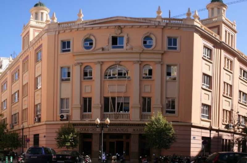 Fachada del Colegio. EPDA.