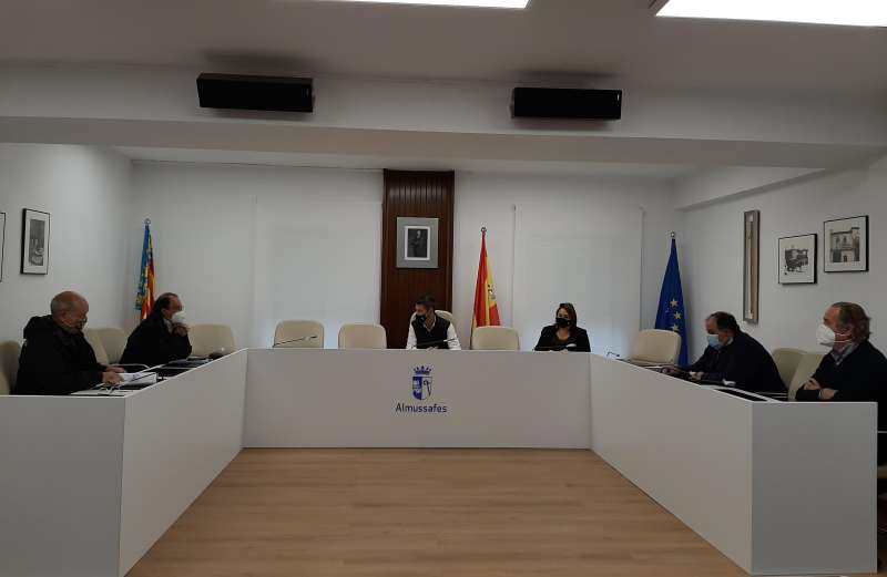 Reunió Ajuntament Almussafes./EPDA