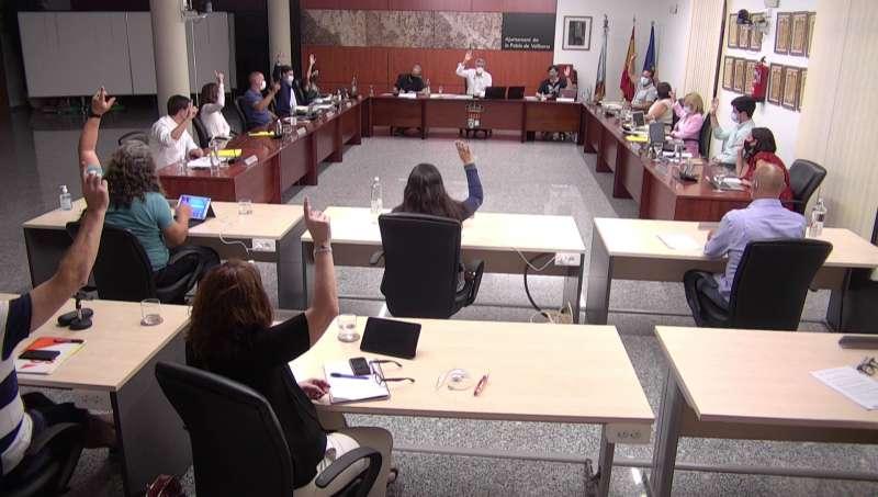 Votación del pleno. / EPDA