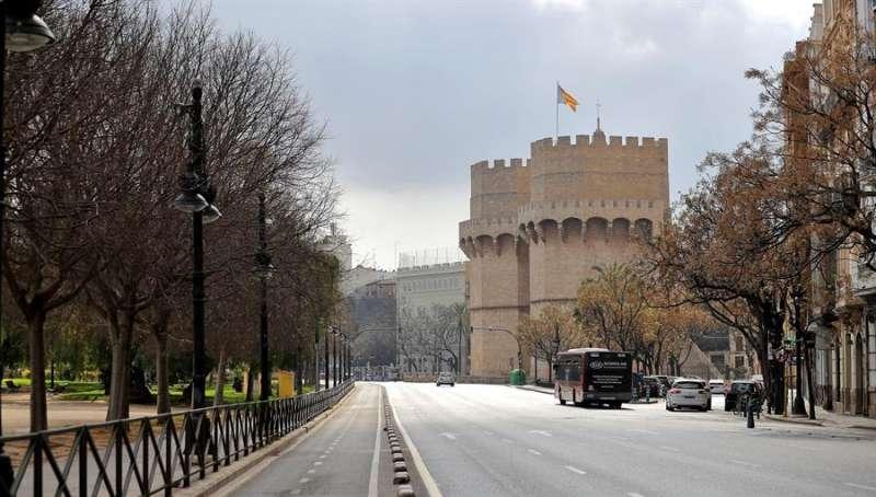 Imagen de archivo de las Torres de Quart de València. EFE/Manuel Bruque/Archivo.