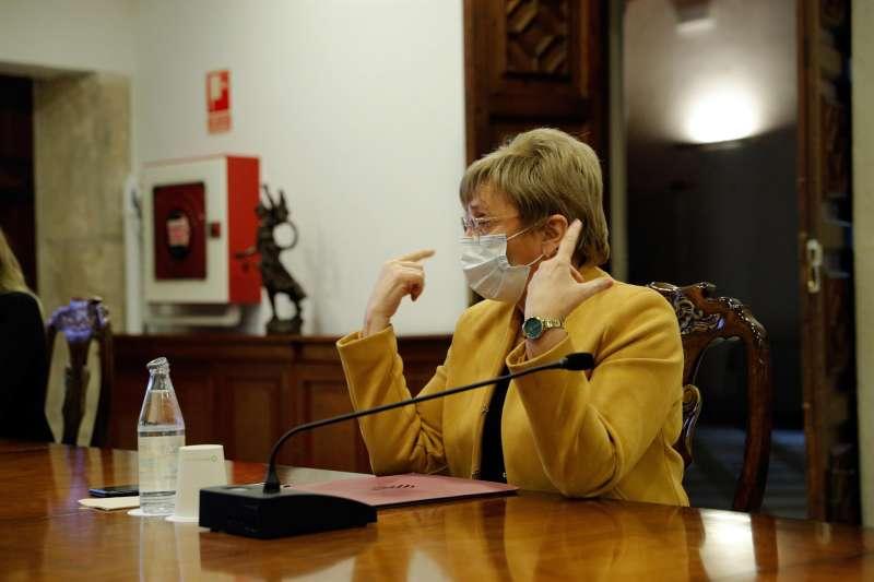 La Consellera de Sanitat, Ana Barceló. / Manuel Bruque (EFE)