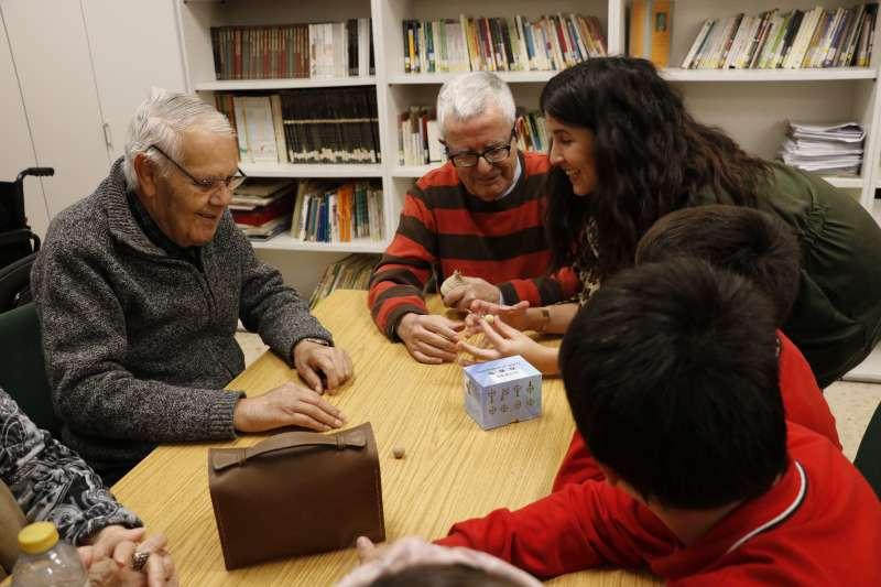 Atención a las personas mayores en Quart. EPDA