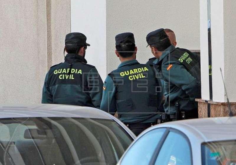 Agentes de la Guardia Civil. EFE