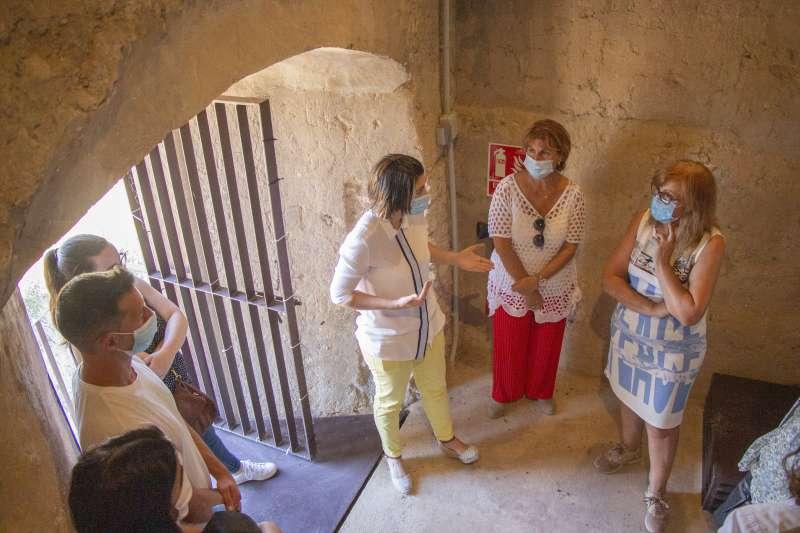 Visita al interior de la torre. EPDA