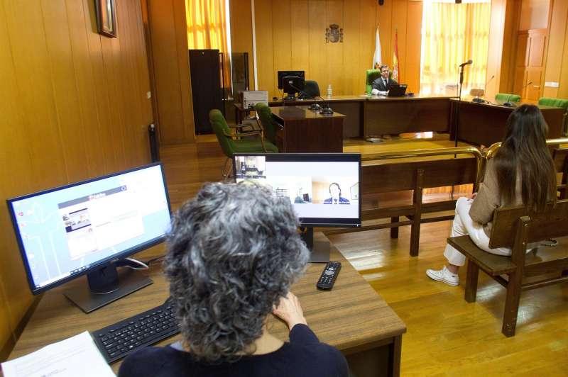 Interior de un juzgado en una imagen de archivo. EFE/Archivo