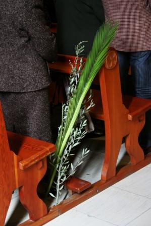 A las 11 en la parroquia de Santiago Apóstol habrá Bendición de Ramos en el Colegio Viejo, en la calle Obispo Cervera, y a continuación, la procesión de ramos. FOTO: EPDA