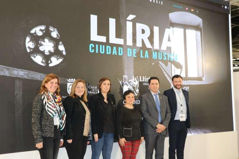 Presentación Ciudad Música Unesco de Llíria en Fitur 2020.