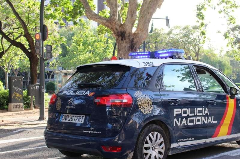 Imagen de archivo de un coche de la Policía Nacional. EPDA