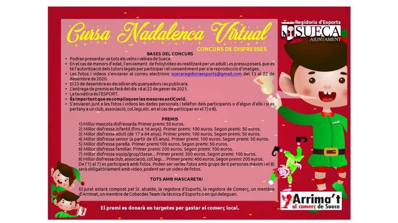 Cartell Concurs Nadal Sueca./EPDA
