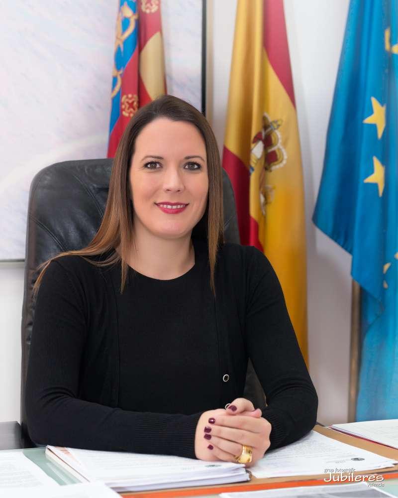 L?alcaldessa de Moncada, Amparo Orts. / epda