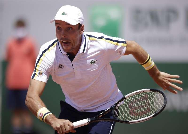 El castellonense Roberto Bautista superó la primera ronda de Roland Garros. EFE/EPA/YOAN VALAT
