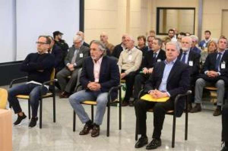Los acusados Álvaro Pérez